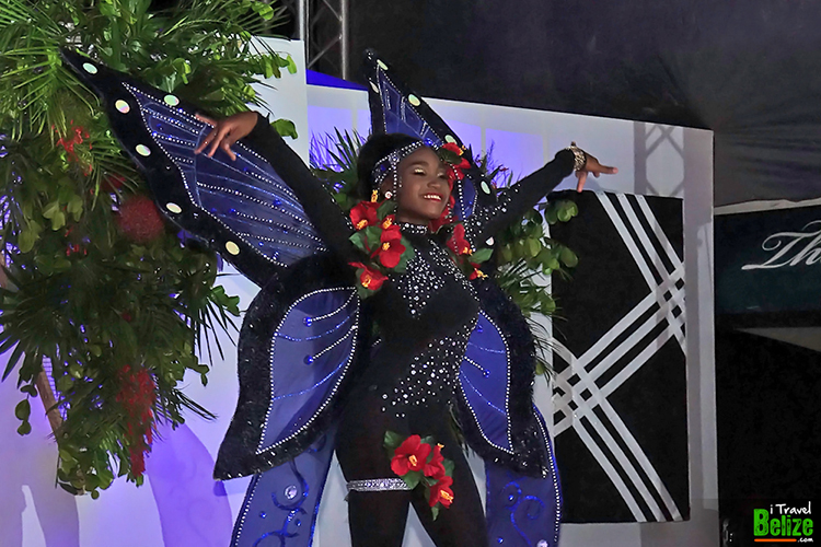Caye Caulker Lobsterfest - Miss Lobsterfest Aaliyah Elijio