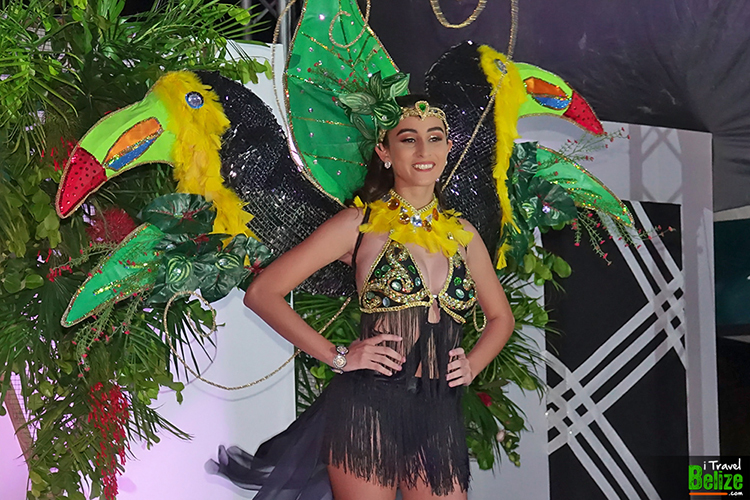 Caye Caulker Lobsterfest - Miss Lobsterfest Aaliyah Elijio