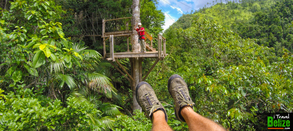 Zip Line in Belize