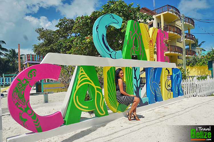 Caye Caulker Sign