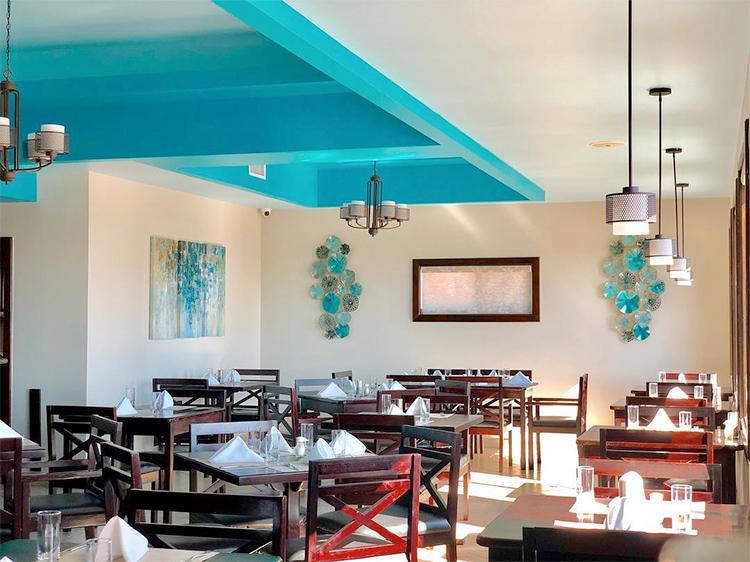 Aqua Restaurant, San Pedro, Belize